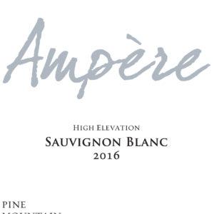 Sauvignon Blanc Ampere 2016 Label copy-1